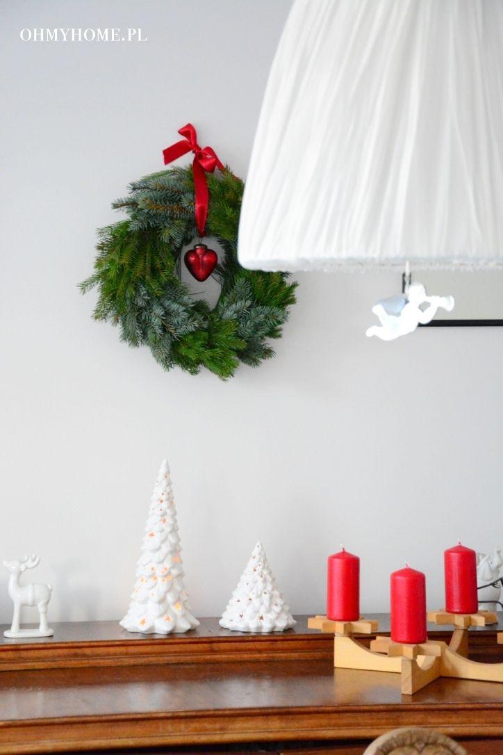 Christmas decorations in my home  http://oh-my-home.blogspot.com/2015/12/migawki-z-swiatecznego-domu.html