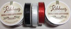Satin Ribbon 6mm - Black