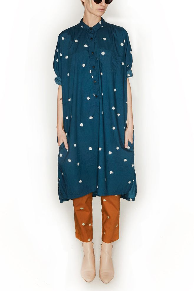 CREATURES OF COMFORT, Tomlin Dress, Teal |