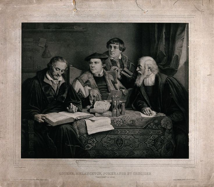 58 best timeline images on pinterest timeline protestant martin luther philippe melanchthon pomeranus et cruciger traduisant la bible vers 1860 fandeluxe Images