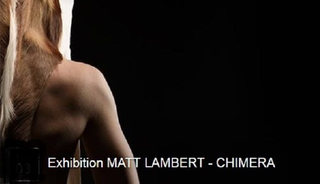 """Matt Lambert Chimera"" - sept 2015 Plarina -  http://www.platina.se/Pressrelease/Matt_press.html:"