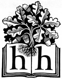 Hamish Hamilton logo designed by Reynolds Stone