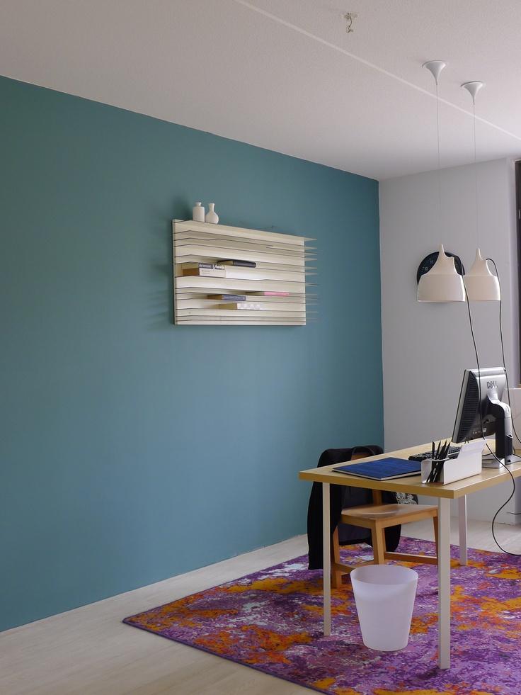 Modelwoning ingericht voor Woonbedrijf, met kleuren van Histor.