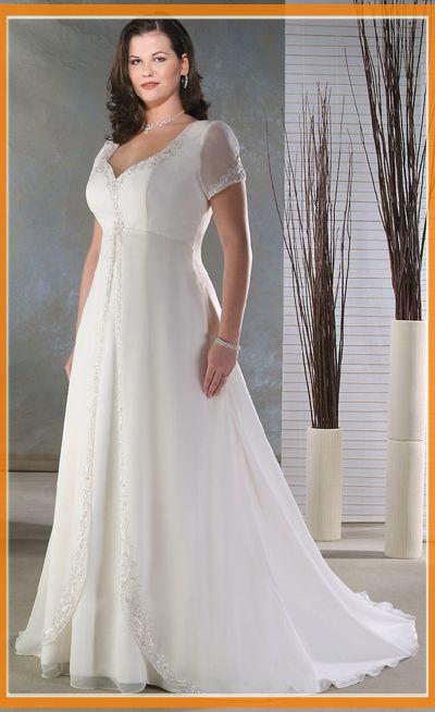 cutethickgirls.com plus size casual wedding dresses (07) #plussizedresses