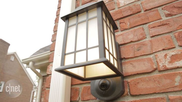 The $199 Kuna Light Fixture is like your current porch light, only better: It's also equipped with a security camera for watching the front door (and yes, spying on your neighbors too).