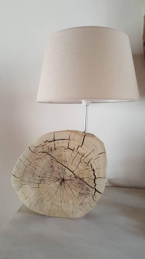 Large Cracked Beautiful Driftwood Table Oval This Lamp Made W2HYED9I