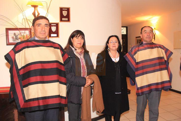 Miguel Serrano, María Elena Martínez, Sara Godoy de Ramírez y Luis Alberto. Asociación de Rodeo de Curicó 22 de junio 2013