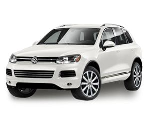 2014 Volkswagen Touareg Pure White