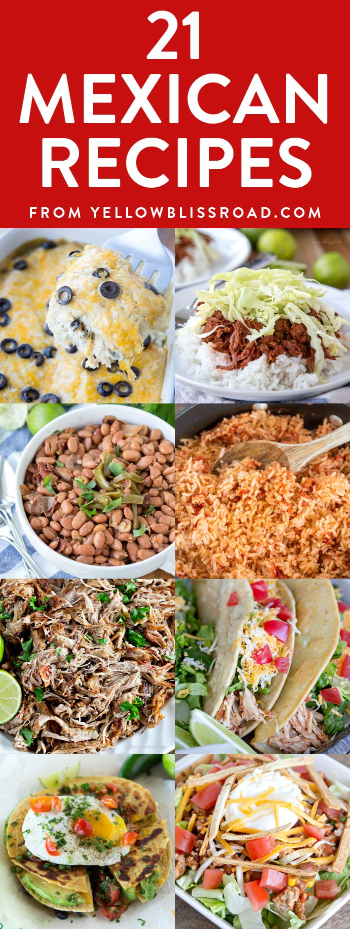Mexican Food is my all -time favorite type of food, and this time of year we seem to make it a lot! I have a lot of authentic dishes here on the site, plus some really delicious takes on old favorites. Any of these recipes would be welcome at your Cinco de Mayo celebration. Enjoy! …