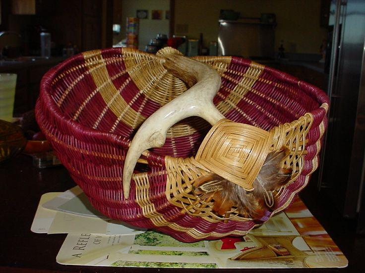 Basket weaving gods eye : Images about baskets on