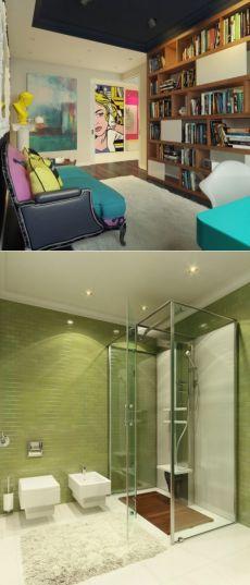 Современный интерьер в стиле Поп Арт - Дизайн интерьеров | Идеи вашего дома | Lodgers