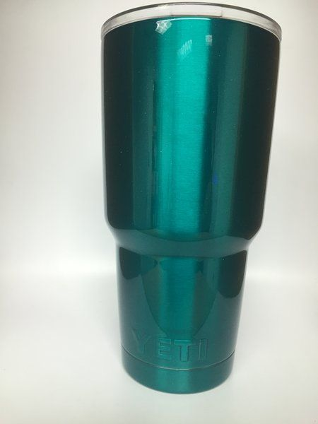 Teal Powder Coated Yeti &ZZ74 – Advancedmassagebysara