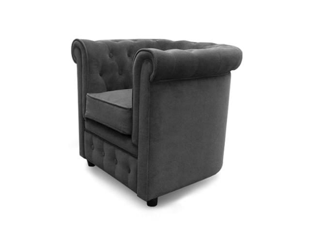 1000 id es sur le th me fauteuil chesterfield sur pinterest pouf canap ch - Fauteuil chesterfield velours gris ...