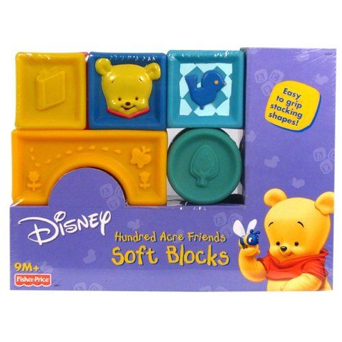 Winnie the Pooh - Toys - Hundred Acre Friends Soft Blocks From Fisher Price