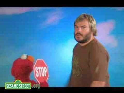 lol! this is the best video ever! Sesame Street: Jack Black defines Octagon. Love Jack Black!