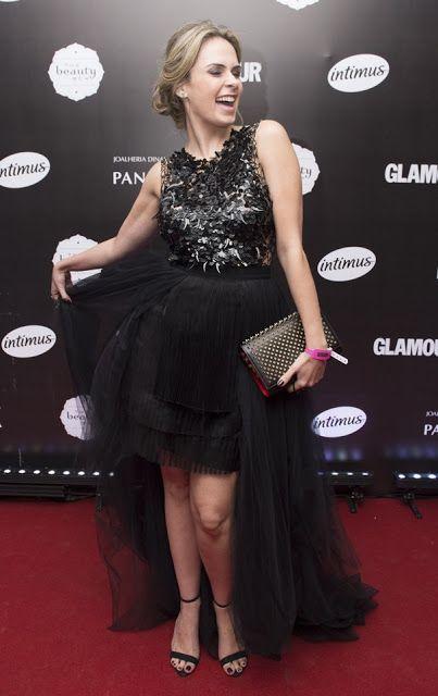 Look da Ana Paula Renault, BBB16, vestido festa glamour