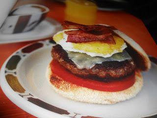 """Le Chef Pierre D'Iberville: Burger """"Matinal"""""""