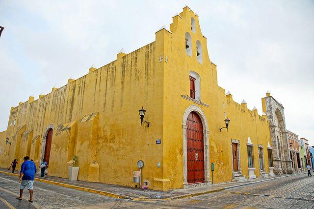 Templo de San Francisquito enla Ciudad de Campeche, Campeche, México