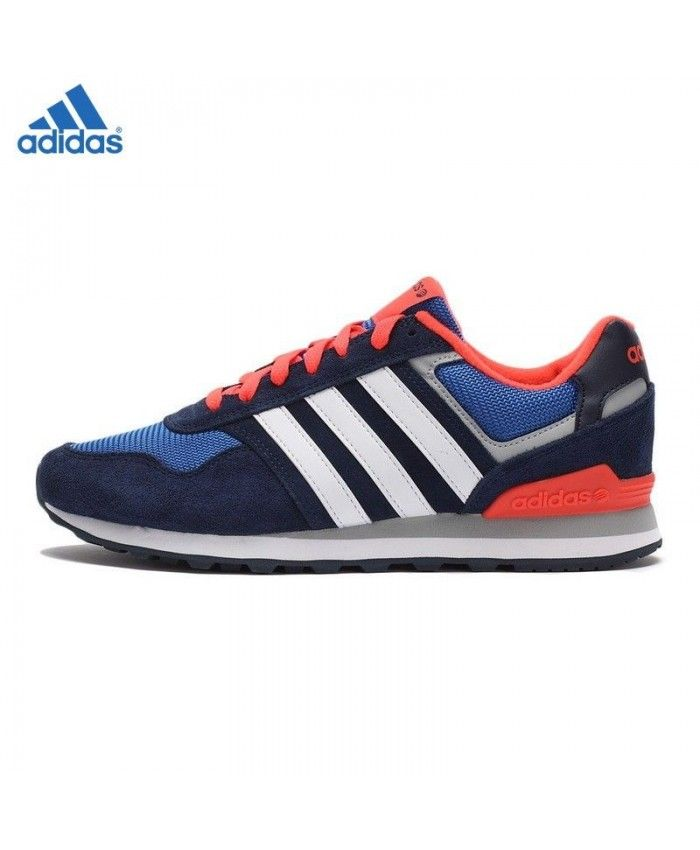 Adidas Neo Shoes Black And Orange