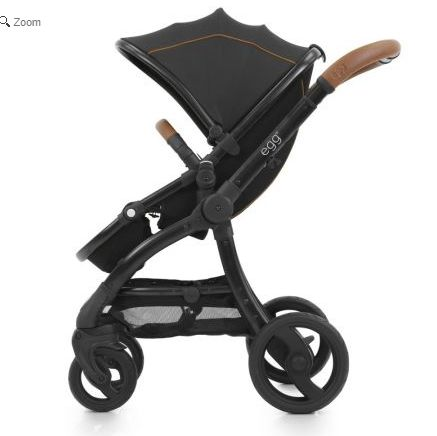 egg Black Frame 3in1 i-Size Travel System stroller in Espresso Black. See more at http://www.parentideal.co.uk/kiddies-kingdom---babystyle-egg.html or click on image to visit shop direct and view current prices.  #Egg #Babystyle #BabystyleEgg #EggPushchair #EggPram #Pram Babystyle Egg pushchair travel system for baby boys and girls with carrycot and car seat available.