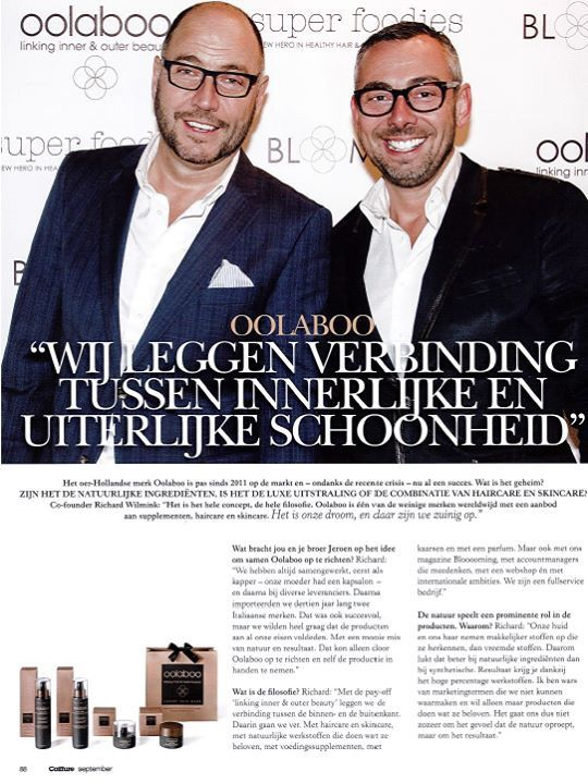 """Interview Coiffure """" Behind the Brand""""."""