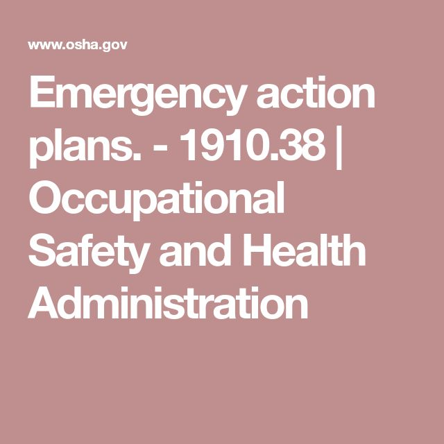 Best  Emergency Action Plans Ideas On   Emergency
