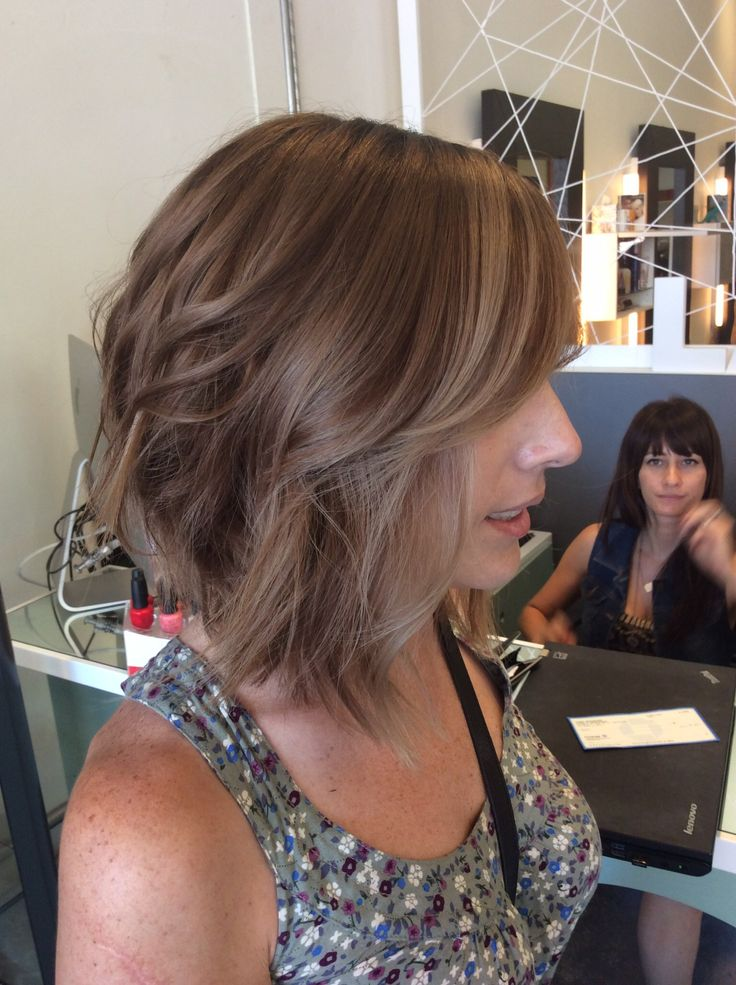 Best 25 light brown bob ideas on pinterest brown balayage bob medium brown aline ash brown hair colorhair pmusecretfo Gallery