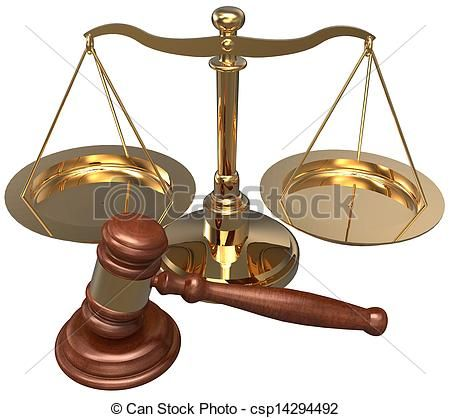 símbolos jurídicos | Stock de Ilustraciones de escala, martillo, abogado, Justicia, legal ...