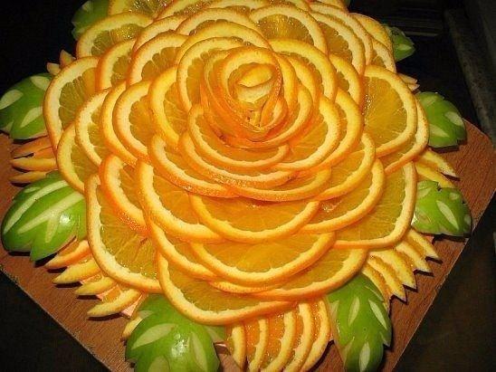 Идеи для фруктовой нарезки