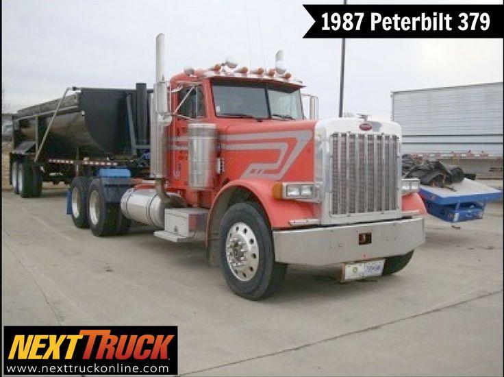 #ThrowbackThursday Check out this 1987 #Peterbilt 379. View more Peterbilt #Trucks at http://www.nexttruckonline.com/trucks-for-sale/by-make/Peterbilt #Trucking #NextTruck #tbt