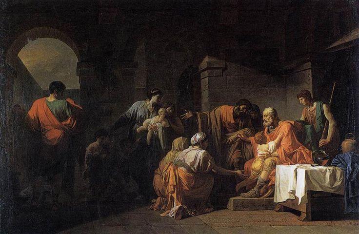Jean-Francois-Pierre Peyron (Jean-François-Pierre Peyron), Belisaurius (Byzantine)