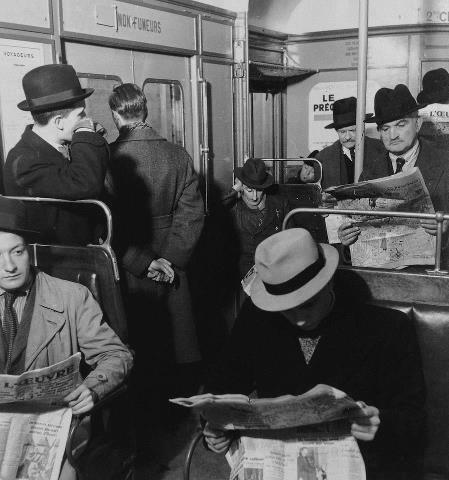 Metro Paris 1930