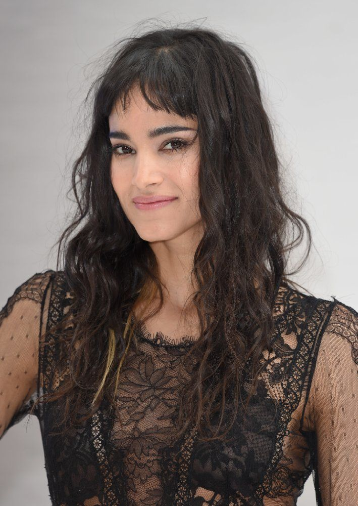 Sofia Boutella arrives for the UK premiere of 'Star Trek Beyond' on July 12, 2016 in London, United Kingdom.