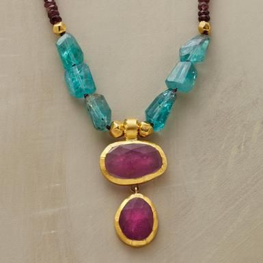 Nava Zahavi: tourmalines and apatite nuggets,