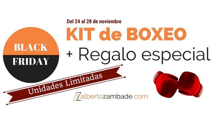 BLACK FRIDAY Oferta BOXEO + Regalo para probarlo conmigo #blackfriday2017 #boxeo #entrenamientopersonal #madrid #albertozambade