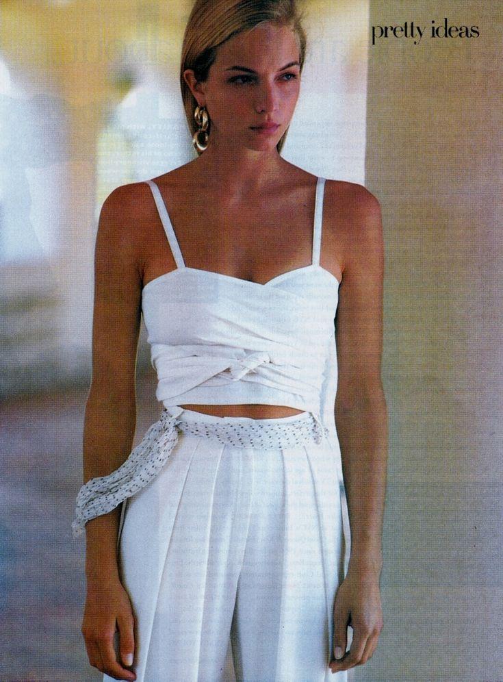 US Vogue May 1988 Scent Match Ph: Patrick Demarchelier Model: Rachel Williams Hair: Ronnie Stam Makeup: Brigitte Reiss-Anderson