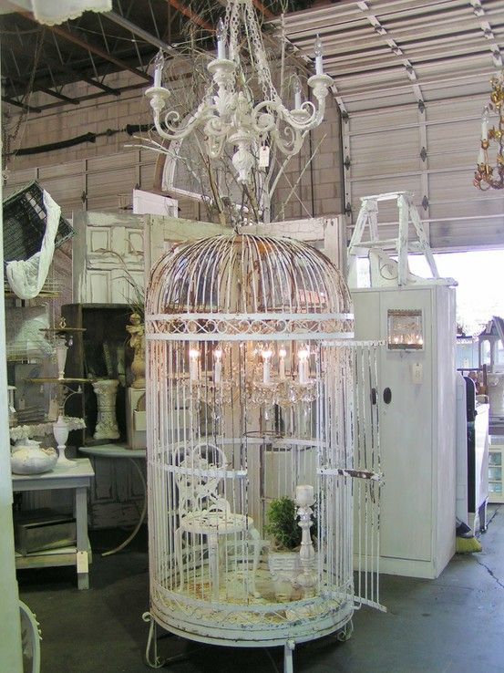 Huge birdcages would decorate the room! www.modemadeleine.com, #deartopshop, dream holiday party, magical, moodboard