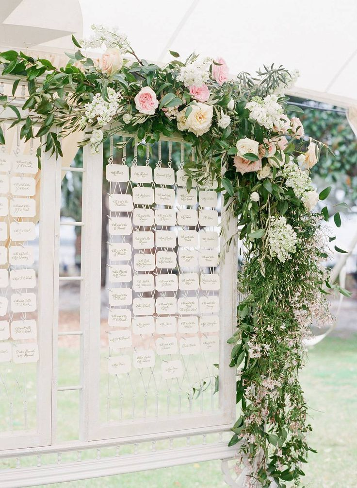 seating chart corbin gurkin easton events wedding table seatingfloral garlandseating plansbackdrop ideasgarden