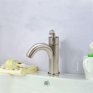 Nickel gebürstet Einhand-Messing Küche Badezimmer Waschtischarmaturen Mischbatterien,48,53€