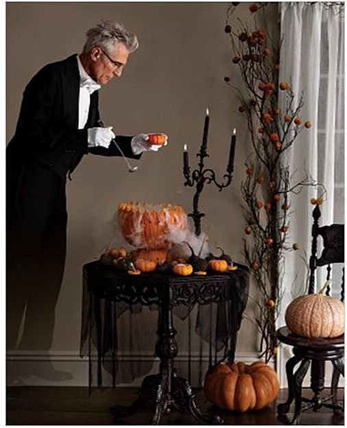 halloween decorating and table setting ideas - Halloween Decorations Martha Stewart