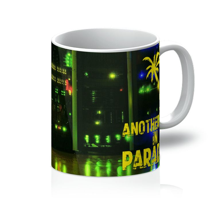 Love and Design Brand - Another Day In Paradise - Computer/IT Staff Mug