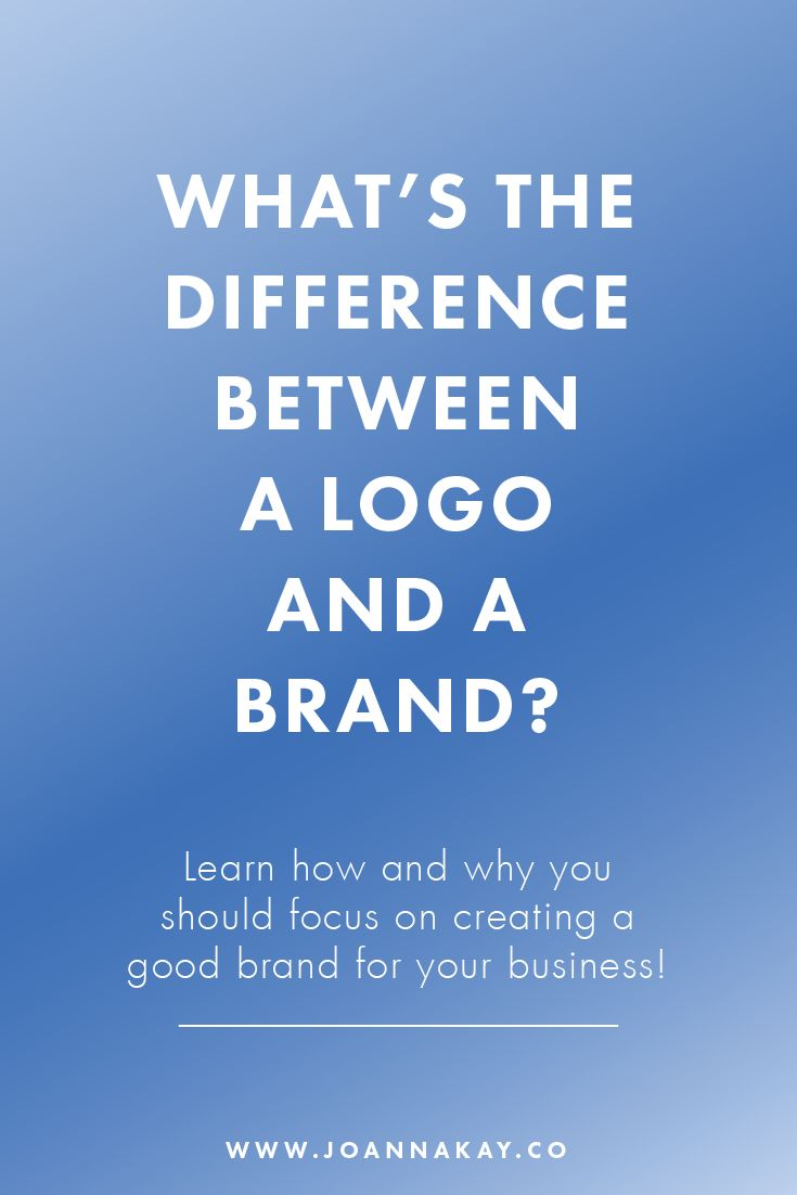 Logo Design vs. Branding – what's the difference?