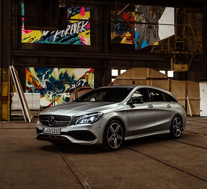 #UrbanDiscovery – The third stage with the CLA 250 Sport 4MATIC Shooting Brake (X 117) starts in Amsterdam.
