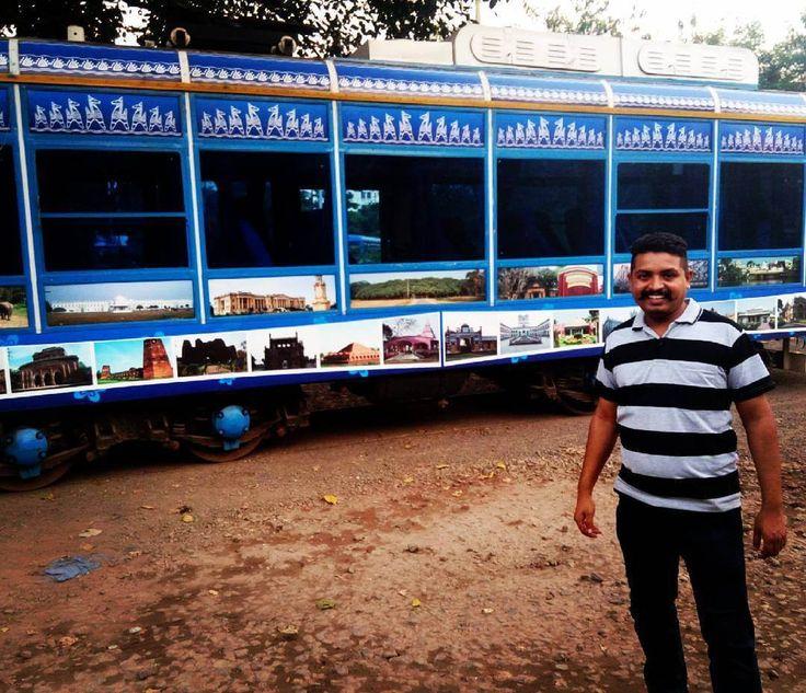 TravelKolkata's Famous Tram Train Kolkata Kolkata