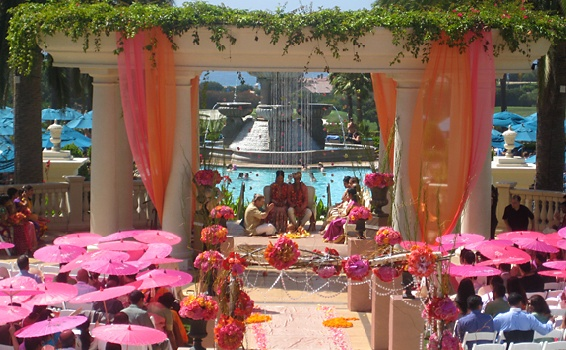 St. Regis Indian Wedding ~ just beautiful