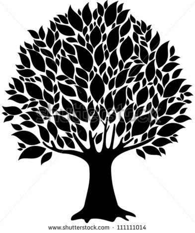 18 best Tree Outlines images on Pinterest Tree drawings Tree