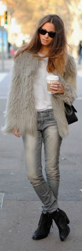 Inspiration for Winter LookBook Fashion For Passion Fur Coats