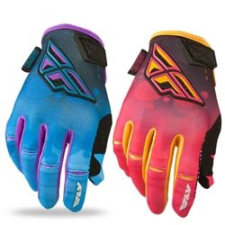 2014 FLY Kinetic Race Girls Motocross Gloves