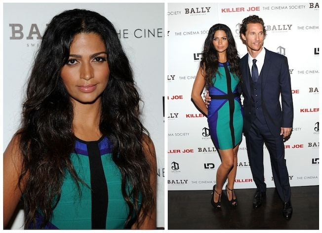 Camila Alves previews dress from INC's Fall Collection for Macy's
