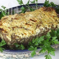 Foto recept: Zuid-Afrikaans gehaktbrood (bobotie)